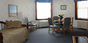 Beechwood offers a Hospitality Suite for families of Hospice patients